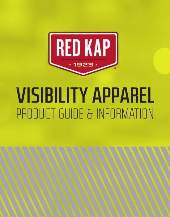 This is a photo of an ad for Red Kap Uniforms