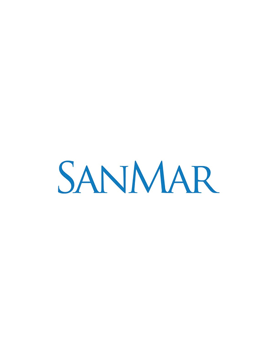 This is a photo of the SanMar logo