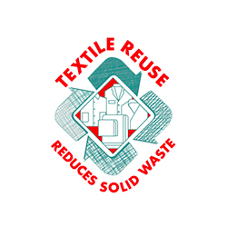 This is a photo of the Textile Reuse logo