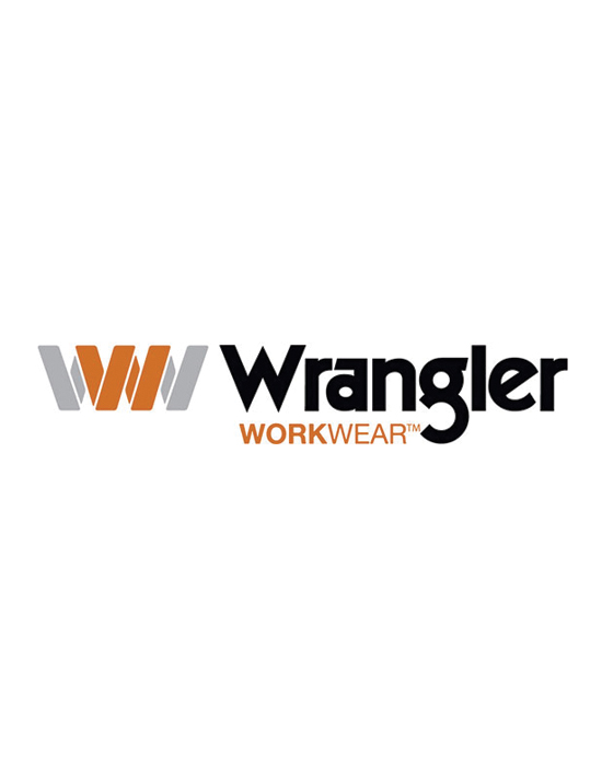 This is a photo of the wrangler logo